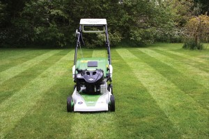 Etesia Mower with Rear Roller