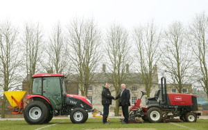 1 New TYM T503 with school's existing Toro Groundsmaster 4500 D head g...