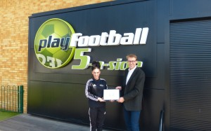 PlayFootball Romford presentation