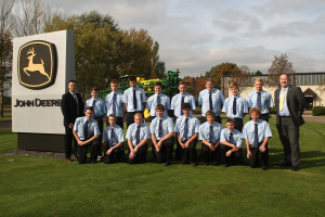 John Deere training group A Ag Tech