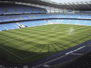 The City of Manchester Stadium, which uses Topsport products