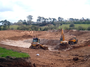 Cut and fill earthworks 01