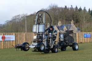 Terralift at Duns Football 1