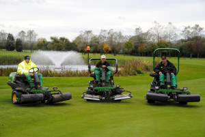 Ombersley GC mowers