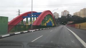Brazil bridge