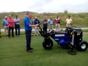 First Air-2G2 demonstration at Fancourt Links, George.