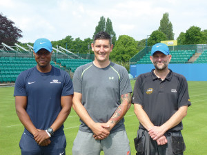 Notts Tennis Centre team