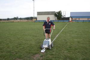 Shrewsbury marking out