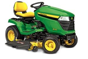 X310 lawn tractor studio