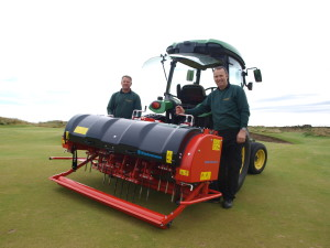 Royal Aberdeen GC with Terra Spike GXi8HD