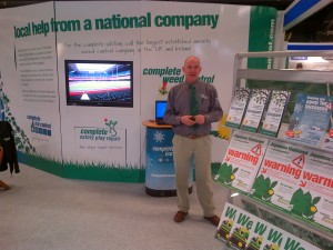 Alan Abel Complete Weed Control at BTME 2013