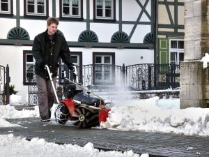 BroomEx snow adjust