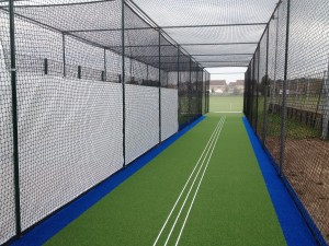New options on total play's tp365 system include two tone blue and green carpet for practice facilities