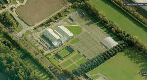 Notts Tennis Centre aerial