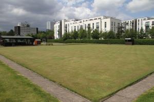 King George V Bowls Club green