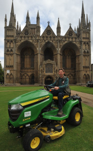 John Deere at Peterborough Cathedral