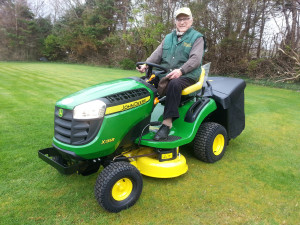Michael J O\'Connor John Deere lawn tractor