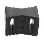 Rubberloc® Double Rounded Slotted Block