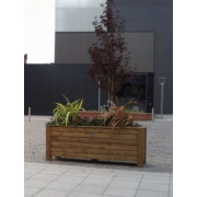 Classic Wooden Planters