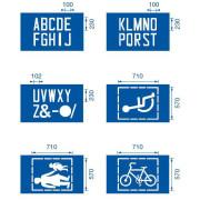 Alphabet & Symbol Stencil Kit