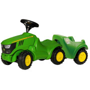 John Deere Minitrac 6150R Tractor & Trailer