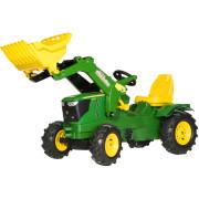 John Deere 6210R Tractor, Loader & Pneumatic Tyres
