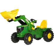 John Deere 6210R Tractor & Loader