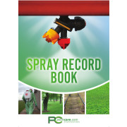 Spray Record Book