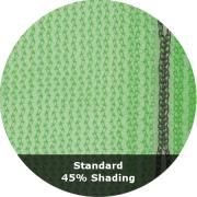 Standard 45% Shading - Windbreak Netting