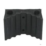 Rubberloc® Unslotted Flat Back Blocks