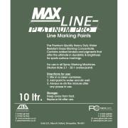 MAX-LINE Platinum Line Marking Paint 10L