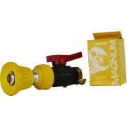 Handheld Yellow Magnum Nozzle With On/Off Valve