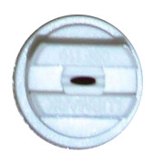 Flat Flan Nozzle ISO White 08F110