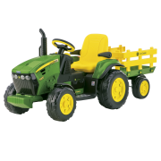 John Deere Ground Force Tractor and Trailer - Free Delivery