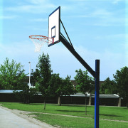 Cantilever Basketball Hoops with Backboards