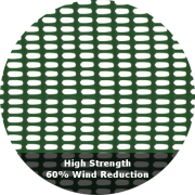 60% Wind Reduction - High Strength Windbreak Netting