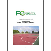 Grounds Training Synthetic Sports Surfaces Maintenance Course